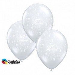 Palloncini Just Married 30 cm
