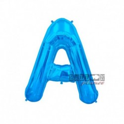 Pallone Lettera A Blu 40 cm