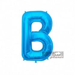 Pallone Lettera B Blu 40 cm