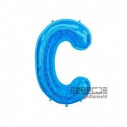 Pallone Lettera C Blu 40 cm