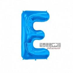 Pallone Lettera E Blu 40 cm