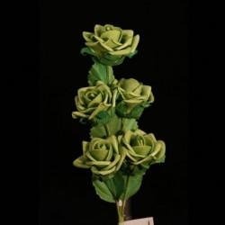 Rametto 5 Roselline Verdi