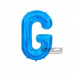 Pallone Lettera G Blu 40 cm