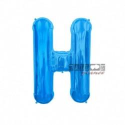 Pallone Lettera H Blu 40 cm