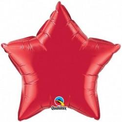 Pallone Stella Jumbo Rossa 90 cm