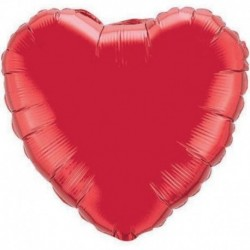 Cuore Jumbo Rosso 80 cm