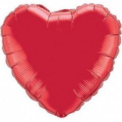 Pallone Cuore Jumbo Rosso 80 cm