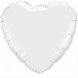 Cuore Jumbo Bianco 80 cm
