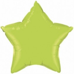 Pallone Stella Jumbo Verde Lime 90 cm