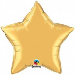 Pallone Stella Jumbo Oro 90 cm
