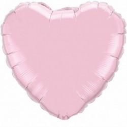 Pallone Cuore Jumbo Rosa 80 cm