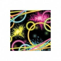 20 Tovaglioli Carta Glow 25x25 cm