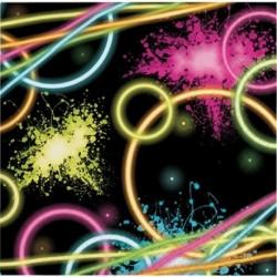 20 Tovaglioli Carta Glow 33x33 cm