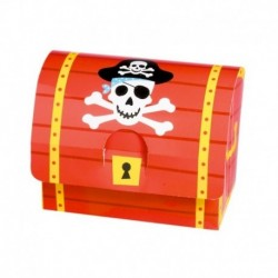 Forziere Pirati 11x9x6 cm
