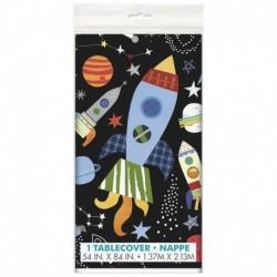 Tovaglia Plastica Outer space 137x213 cm