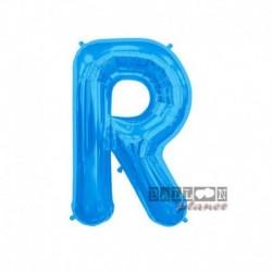 Pallone Lettera R Blu 40 cm