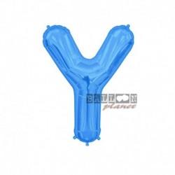 Pallone Lettera Y Blu 40 cm