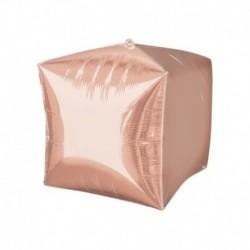 Pallone Cubo Rosa Gold 40 cm