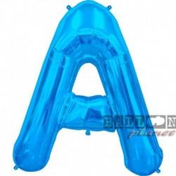 Lettera A Blu 90 cm