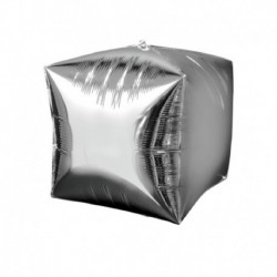 Pallone Cubo Argento 40 cm
