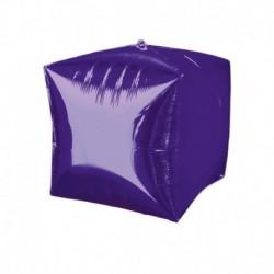 Pallone Cubo viola 40 cm