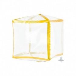 Pallone Cubo Trasparente 40 cm