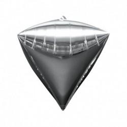 Pallone Diamante Argento 40 cm