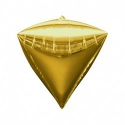 Pallone Diamante Oro 40 cm