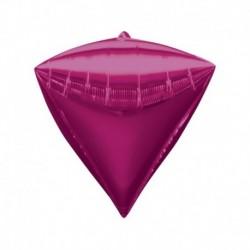Pallone Diamante Fucsia 40 cm