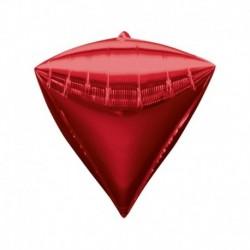 Pallone Diamante Rosso 40 cm