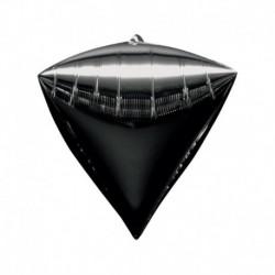 Pallone Diamante nero 40 cm