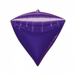 Pallone Diamante Viola 40 cm