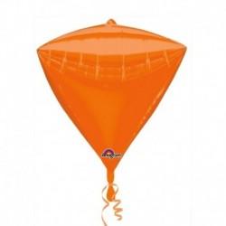 Pallone Diamante Arancione 40 cm