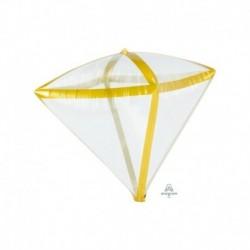 Pallone Diamante Trasparente 40 cm