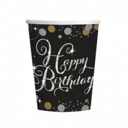 8 Bicchieri Carta Sparkling 266 ml