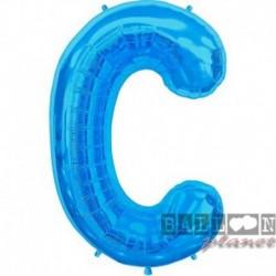 Pallone Lettera C Blu 90 cm