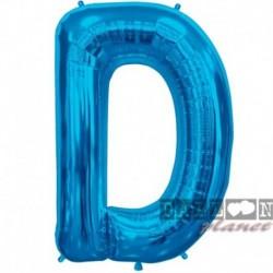 Pallone Lettera D Blu 90 cm
