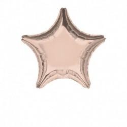 Pallone Stella Rose Gold 45 cm