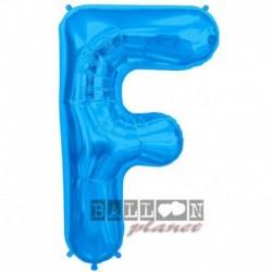 Pallone Lettera F Blu 90 cm