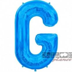 Pallone Lettera G Blu 90 cm