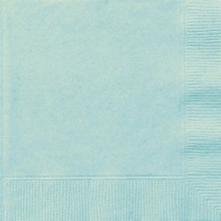 20 Tovaglioli Carta Verde Menta 33x33 cm