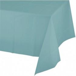 Tovaglia Plastica Verde Menta 137x274 cm