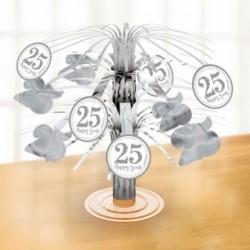 Centrotavola 25° Anniversario 28 cm