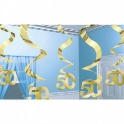 5 Decorazioni Pendenti 60 cm