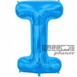 Pallone Lettera I Blu 90 cm
