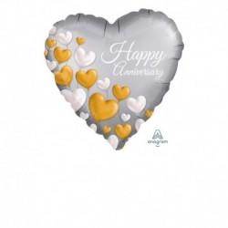 Pallone Happy Anniversary 45 cm