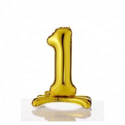Pallone Numero 1 Autoportante 40 cm