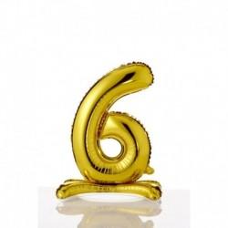 Pallone Numero 6 Autoportante 40 cm