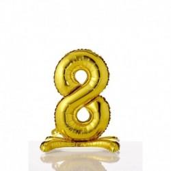 Pallone Numero 8 Autoportante 40 cm