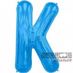 Pallone Lettera K Blu 90 cm